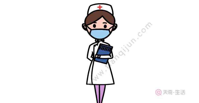 抗疫的画 抗疫护士简笔画怎么画