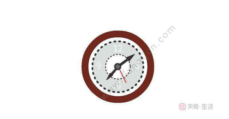 钟表怎么画 钟表简笔画怎么画  钟表简笔画画法