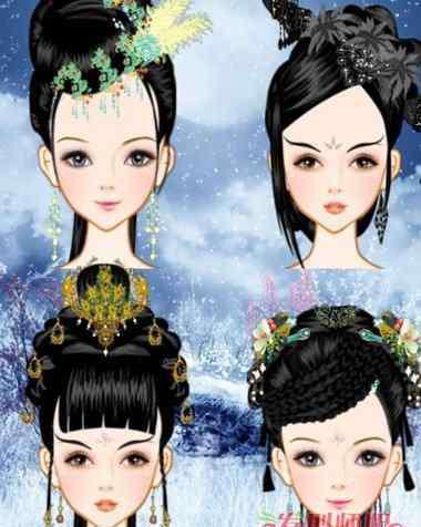 古代女子的发髻 古代女子各种发髻解析 古代发髻种类