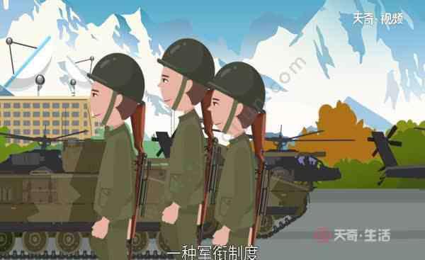 中国军衔等级划分 军衔等级划分 中国军衔等级划分是怎样的