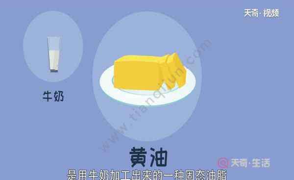 什么是黄油 黄油是什么油 黄油又叫什么
