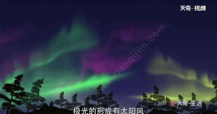 北极光是怎么形成的 北极光是怎么形成的 北极光的形成要素
