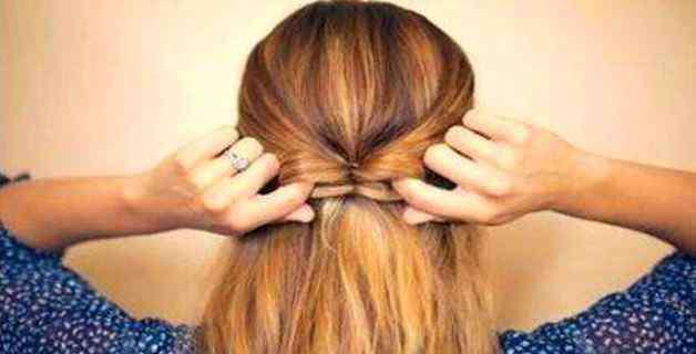 蝴蝶结头发怎么扎 如何扎蝴蝶结头发