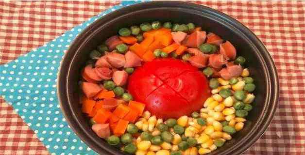番茄饭电饭煲的做法 电饭煲番茄的做法