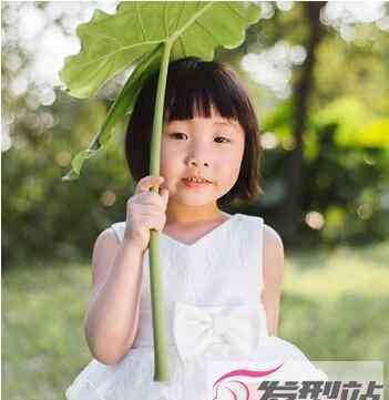 小女孩短发发型图片 几十款小女孩发型短发 非常可爱的女童短发图片