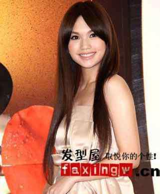杨丞琳发型 杨丞琳直发发型图片大全