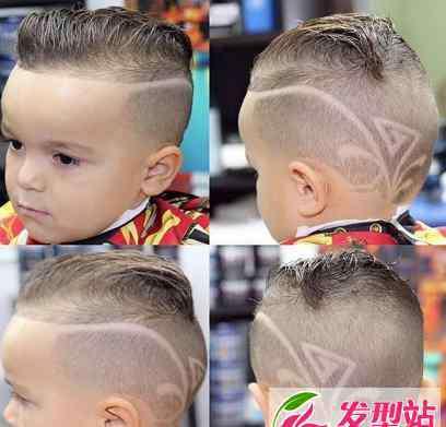0一1岁男宝宝创意发型 2018帅气小男孩发型 雕刻创意潮流儿童发型图片大全