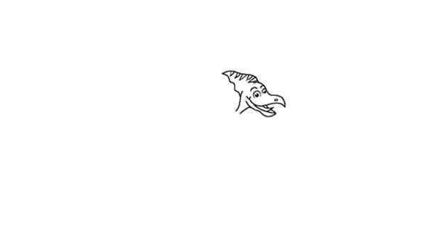 翼龙怎么画 风神翼龙简笔画怎么画