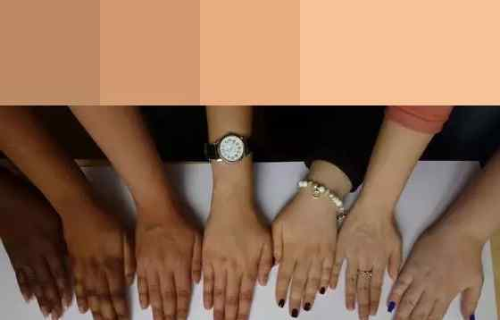 指甲图片2017显手白 黑黄皮涂了也显白的指甲油 究竟该怎么挑?
