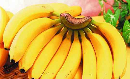 香蕉的营养价值及功效 香蕉的营养价值和功效作用