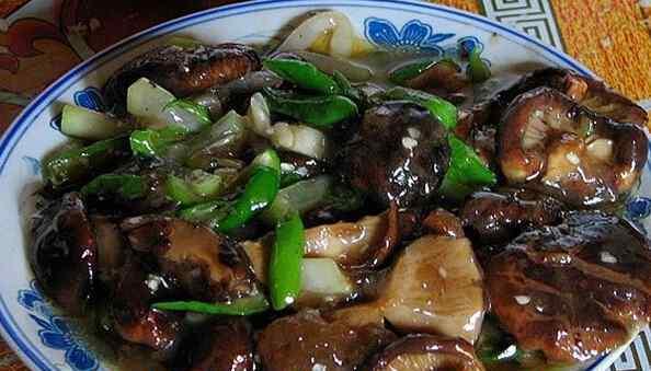 素炒香菇 素炒香菇的做法大全