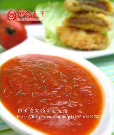 番茄酱用法 黑番茄酱用法