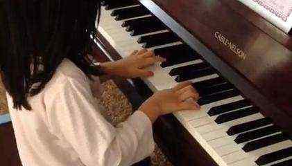 钢琴初步学习 初学钢琴的8个指法图