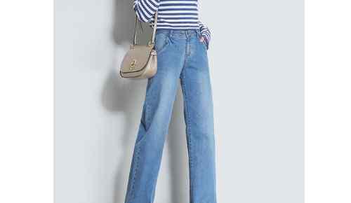 直筒牛仔裤配什么上衣 直筒牛仔裤的优点是什么,搭配什么上衣好看