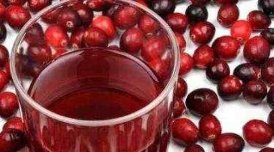 蔓越莓汁 蔓越莓果汁的功效与作用
