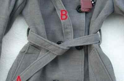 大衣怎么打蝴蝶结 风衣蝴蝶结的系法图解,几步一款漂亮蝴蝶结