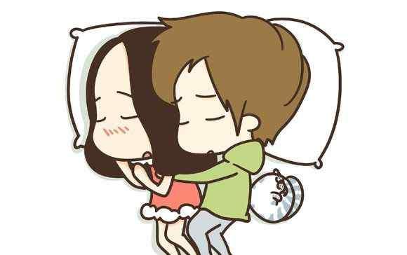 情侣睡姿 情侣睡觉姿势,你是哪一种?