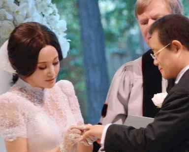 刘晓庆今日大婚 刘晓庆美国大婚回顾和照片