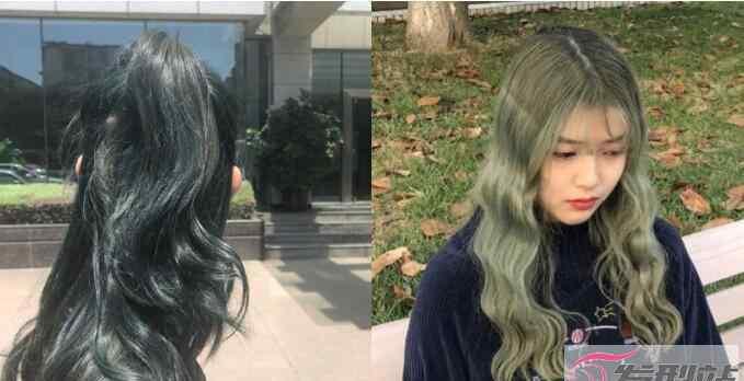 亚麻绿 墨绿色头发掉色后变什么色(掉色顺序是亚麻绿→亚麻金)