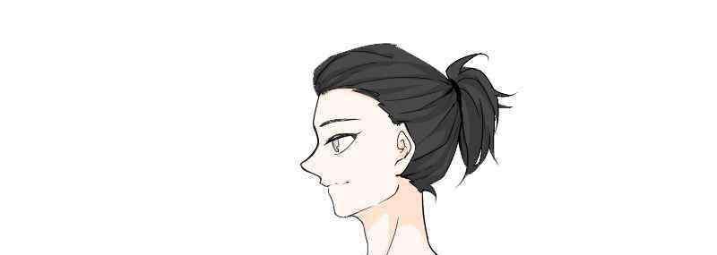 小辫子发型扎法 日式小辫子发型扎法男