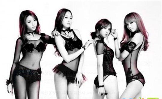 4l组合成员资料 韩国女团four ladies组合成员照片