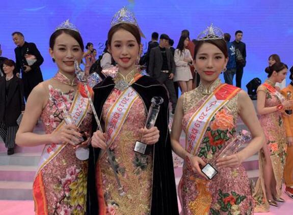 【关注】2019亚洲小姐冠军诞生 江雨婷花开并蒂个人资料背景被热搜