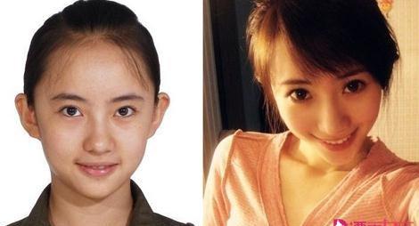 星动态:刘萌萌整容前后照片  诺澜整容前长啥样?