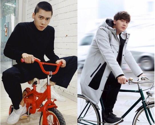 【热议】李易峰骑儿童自行车 被调侃幼稚儿童欢乐多