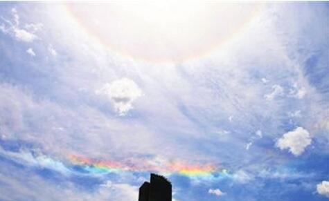 【祥瑞】杭州上空现七彩祥云 七彩祥云是怎么形成的日华又是什么
