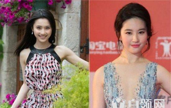 张慧雯和刘亦菲对比照  张慧雯和刘亦菲谁漂亮