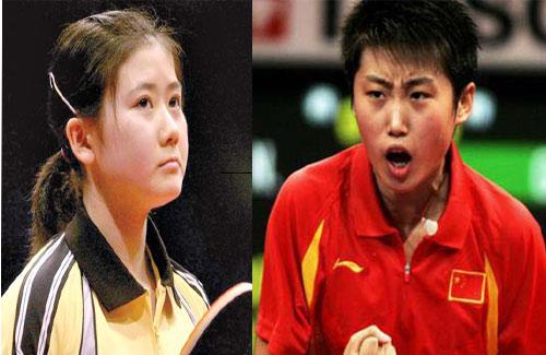 张怡宁打哭福原爱 教练:她要哭了快让几个
