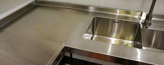 橱柜台面用不锈钢好吗 有什么原因