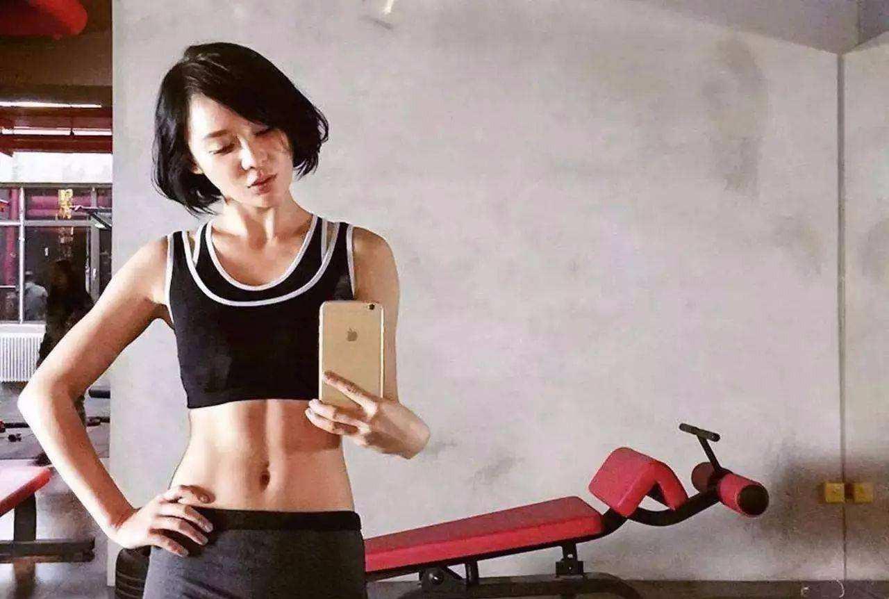 袁姗姗马甲线训练教程 来看看吧