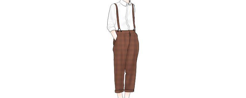背带裤怎么穿带子才不会掉 多个办法教你