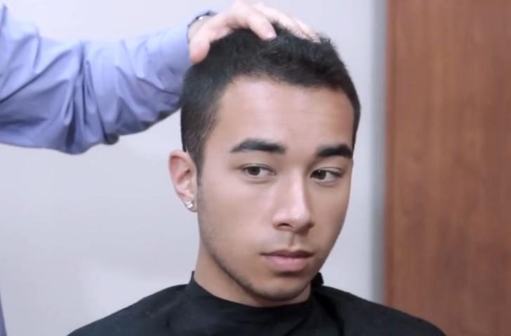 头发少适合什么发型男 男生头发少适合的发型