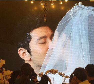 杨颖和黄晓明结婚视频曝光 被曝人品爆差抽烟照被扒