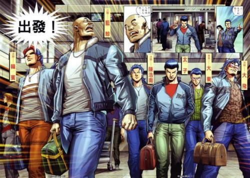 古惑仔原版漫画人物结局 古惑仔将会完结于陈浩南的生命终结之时