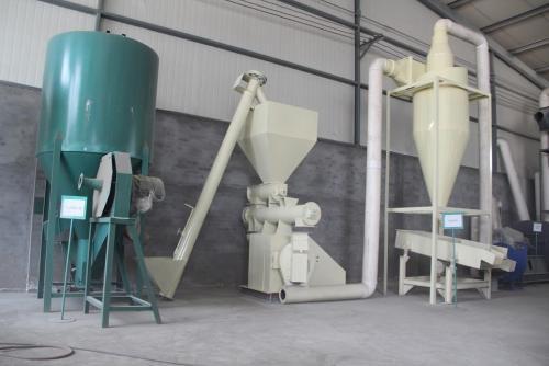 成套饲料加工机组有哪些设备组成 成套饲料加工机组设备组成简述