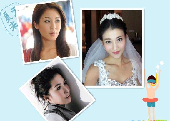 星热点:周丽淇、李彩桦、陈敏之对比照,TVB三大美女长相惊人相似