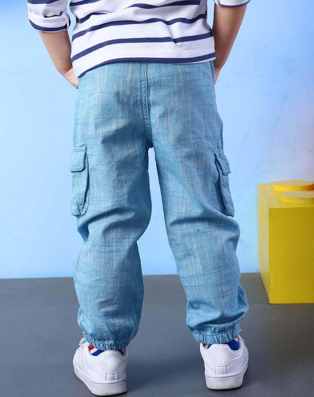 蓝色的裤子搭配 快来看看吧