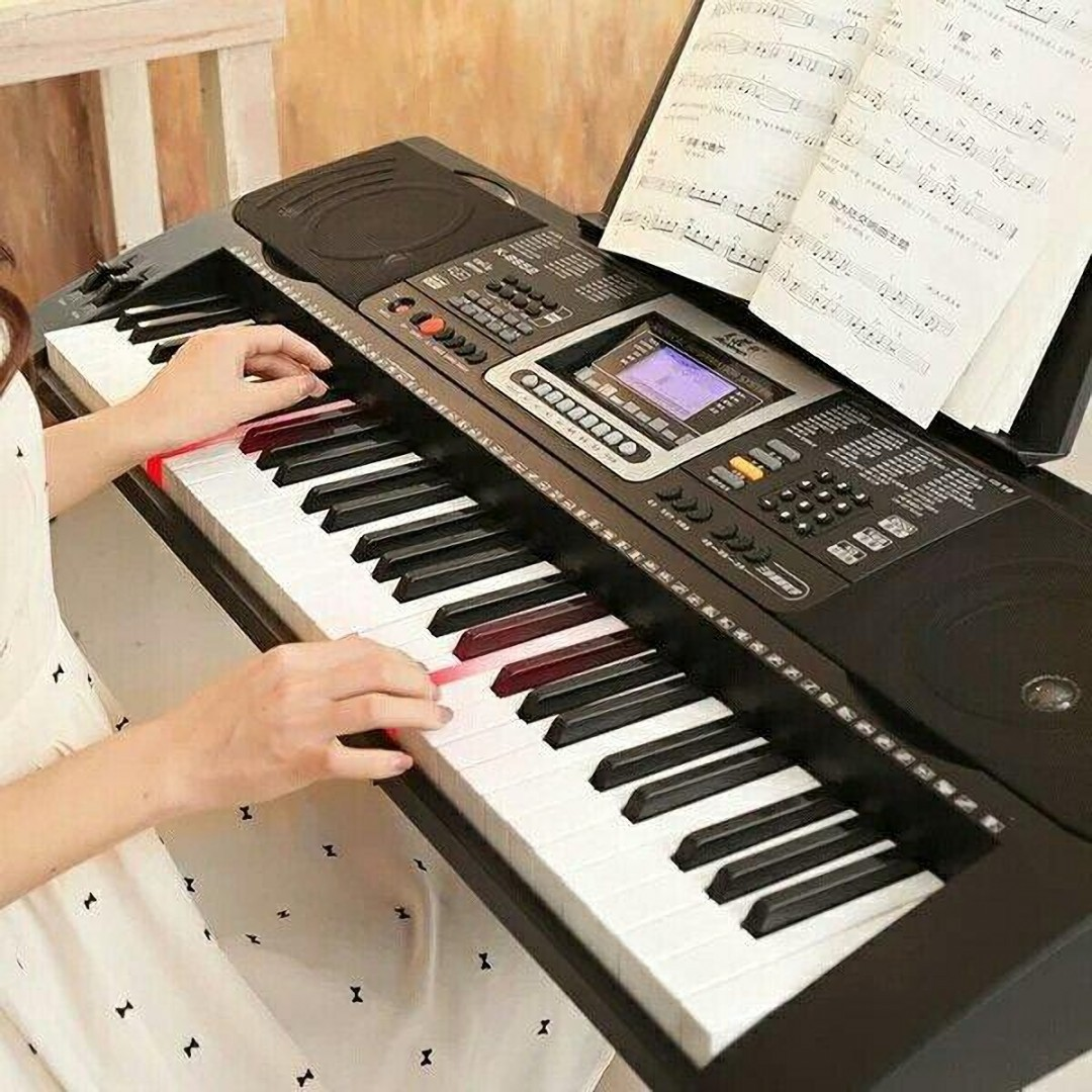 电子琴入门基础教程 了解一下