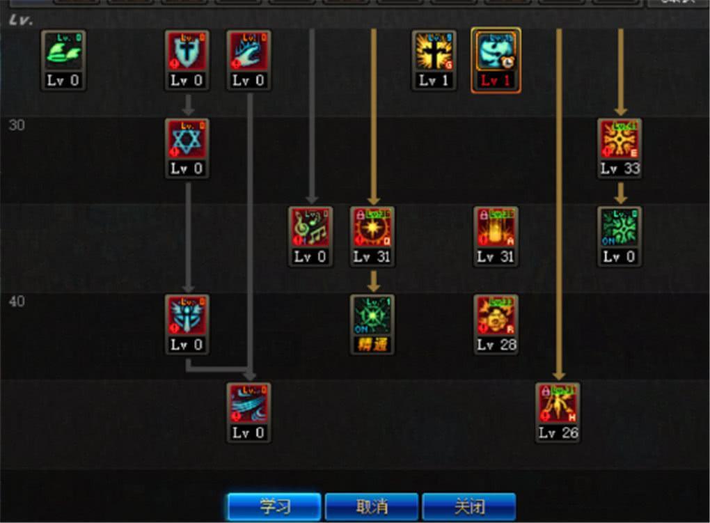 地下城与勇士加点方法 地下城与勇士M元素师技能加点推荐详解
