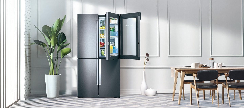 海尔双开门冰箱尺寸分别是多少 海尔双开门冰箱的具体尺寸
