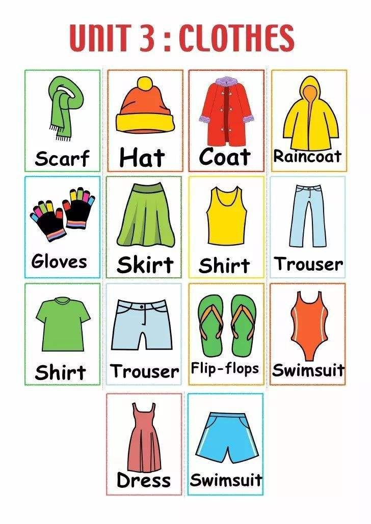 clothes的意思 clothes的例句