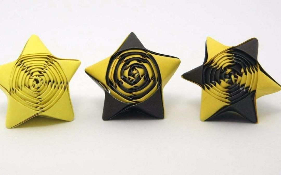 吸管星星的折法 教你怎么折吸管星星