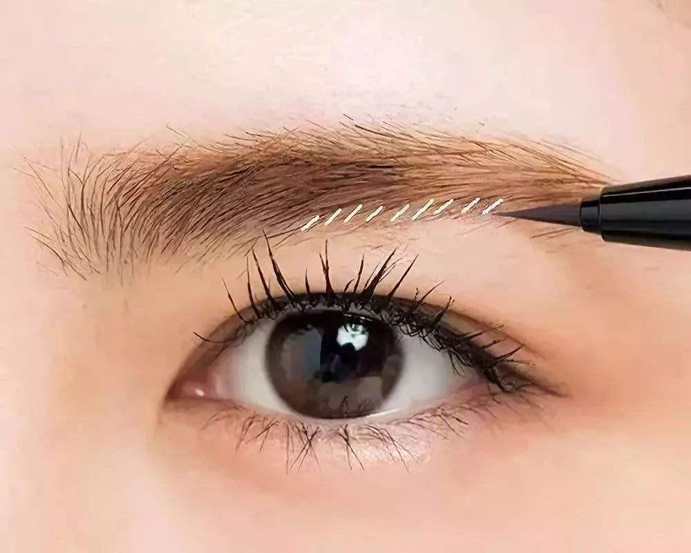 初学者画眉毛步骤图解 初学化妆如何画眉毛
