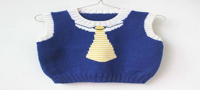 婴儿毛衣编织教程 一次看懂的四步骤