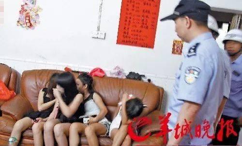 2019广东佛山扫黄打非现场:凌乱不堪, 失足女无处藏身!