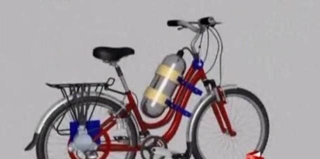 空气自行车:中国民间发明家研发空气动力自行车,真是高手在民间