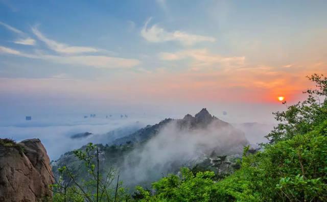 浮山森林公园 新景美如画
